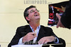 BRASIL 2012-03-31 LANCAMENTO DO LIVRO SAO JOSE DOS MICUINS - ALMANAQUE DE CURIOSIDADES HISTORICAS DE SAO JOSE DOS CAMPOS NO PERIODO SANATORIAL DE AUTORIA DE VITOR CHUSTER PATROCINADO PELA FCCR E PREFEITURA DA CIDADE , O EVENTO OCORREU NA CAMARA MUNICIPAL DE SAO JOSE DOS CAMPOS - SP BRASIL. / Brasilien: Buchvorstellung. © Lucas Lacaz Ruiz/LATINPHOTO.org