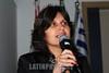 """BRASIL 2012-04-03 PALESTRA """"ENTENDA O ACORDO DE PREVIDENCIA BRASIL - JAPAO"""" PROMOVIDO PELA VEREADORA AMELIA NAOMI E PELO DEP FEDERAL CARLINHOS DE ALMEIDA - PT NA CAMARA MUNICIPAL DE SAO JOSE DOS CAMPOS QUE CONTOU COM A PRESENCA DE TSUBOI TOSHINOBU, (NA FOTO ) CONSUL DO CONSULADO GERAL DO JAPAO EM SAO PAULO E TEVE PALESTRA DE MARIA DA CONCEICAO COELHO ALEIXO, COORDENADORA DE ACORDOS INTERNACIONAIS - INSS BRASILIA. INTERNACIONAIS - INSS BRASILIA.  (NA FOTO).  / Brazilian Japanese friendship. / Brasilien: Brasilianische japanische Freundschaft. Konsul TSUBOI TOSHINOBU. © Lucas Lacaz Ruiz/LATINPHOTO.org"""