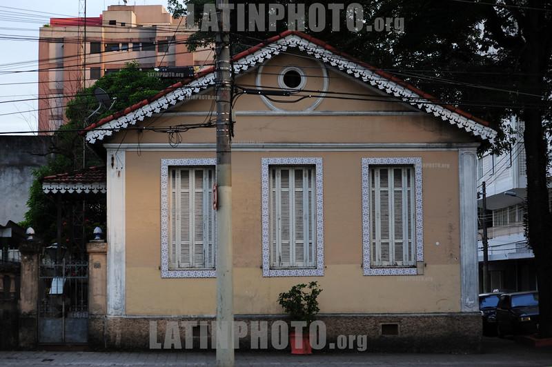 Brasil: 2012-04-15 CASA ANTIGA EM Sao Jose dos Campos - SP, centro. / Casa Colonial. / old house. / Brasilien: Antikes HAus in Sao Jose dos Campos. © Lucas Lacaz Ruiz/LATINPHOTO.org
