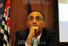 BRASIL 2012-04-26 IV SEMINARIO SOBRE GESTAO DE CIDADES EM TEMPOS DE INTEGRACAO REGIONAL PROMOVIDO PELA FAAP EM SAO JOSE DOS CAMPOS - SP BRASIL. NA FOTO EDUARDO CURY PREFEITO DE SJCAMPOS - SP . / Brasilien: EDUARDO CURY. © Lucas Lacaz Ruiz/LATINPHOTO.org