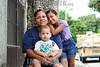 BRASIL 2012-04-14 DESABRIGADOS PINHEIRINHO. DIVERSAS FAMILIAS ESTAO VIVENDO APENSA COM O ALUGUEL SOCIAL OFERECIDOS PELO GOVERNO DO ESTADO E PREFEITURA DE SJCAMPOS, POREM MUITASS DELAS AINDA NAO CONSEGUIRAM NEM EMPREGO NEM UMA CASA MAIS DEFINITIVA ATE A CONSTRUCAO DAS 1.100 MORADIS PROMETIDAS PELO GOVERNO DO ESTADO. NA FOTO TAYNNA RIBEIRO ALVES, 26 COM OS FILHOS ASHLEY RAISA SANTANA ALVES, 6 E LUIZ OTAVIO OLIVEIRA ALVES DE 1 ANO E 3 MESES. / Familias desplazadas de la devastada asentamientos pobres Pinheirinho. / Displaced families from Pinheirinho. / Brasilien: Vertriebene Familie aus der zerstörten armensiedlung Pinheirinho. © Lucas Lacaz Ruiz/LATINPHOTO.org