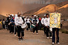 Argentina: Una semana antes de la Pascua, peregrinos emprenden un viaje a pie hacia al paraje del Santuario de La Virgen de Copacabana de Punta Corral, situado en la Sierra Andina de la que hereda su nombre, a una altura de 3600 m.s.n.m. al este de la Quebrada de Humahuaca, provincia de Jujuy. Dos senderos usan los peregrinos para el ascenso y descenso de la montaña: Tumbaya y Tunalito.<br /> El camino de Tumbaya parte de la localidad que le da el nombre, a 2084 m.s.n.m. Avanza junto al río Punta Corral recorriendo alrededor de 22 km hasta llegar al santuario, alrededor de 12 horas de caminata por el medio de las montanas. / Every year, a week before Easter, pilgrims on a journey on foot to the spot of the Shrine of Our Lady of Copacabana to Punta Corral, located in the Andean. / Argentinien: Pilgerweg eine Woche vor Ostern. © Santiago Loydi Maffei/LATINPHOTO.org
