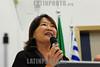 """BRASIL 2012-04-03 PALESTRA """"ENTENDA O ACORDO DE PREVIDENCIA BRASIL - JAPAO"""" PROMOVIDO PELA VEREADORA AMELIA NAOMI E PELO DEP FEDERAL CARLINHOS DE ALMEIDA - PT NA CAMARA MUNICIPAL DE SAO JOSE DOS CAMPOS QUE CONTOU COM A PRESENCA DE TSUBOI TOSHINOBU, (NA FOTO ) CONSUL DO CONSULADO GERAL DO JAPAO EM SAO PAULO E TEVE PALESTRA DE MARIA DA CONCEICAO COELHO ALEIXO, COORDENADORA DE ACORDOS INTERNACIONAIS - INSS BRASILIA. NA FOTO A VEREADORA AMELIA NAOMI. / Brazilian Japanese friendship. / Brasilien: Brasilianische japanische Freundschaft. Konsul TSUBOI TOSHINOBU. © Lucas Lacaz Ruiz/LATINPHOTO.org"""