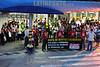 Brasil - 2012-03-26 Funcinarios da GM em Sao Jose dos Campos - SP fazem manifestacao de 2 horas parados em frente a fábrica pela morte de Antonio Teodoro Pereira Filho, 60 anos, que trabalhava ha 32 anos na montadora e morava em Jacarei. Foi votado ainda a nao incidencia de impostos na PLR. / trabajadores en huelga. / Workers on strike. / Brasilien: Arbeiter streiken vor dem GM Werk in Sao Jose dos Campos. © Lucas Lacaz Ruiz/LATINPHOTO.org
