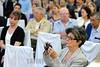 BRASIL 2012-09-01 ENCONTRO COM ESCRITORES AERONAUTICOS NA NOITE DE ONTEM NA APVE ASSOCIACAO DOS PIONEIROS E VETERANOS DA EMBRAER EM SAO JOSE DOS CAMPOS - SP BRASIL . / Brasilien , Schriftsteller Treffen zum Thema der Raumfahrt. © Lucas Lacaz Ruiz/LATINPHOTO.org