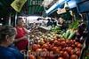 Venezuela : Mercado Municipal de San Martin / San Martin Municipal Market in Caracas / Venezuela : Zentralmarkt in Caracas - Gemüse - Markt - Versorgung © Alexander Sánchez/LATINPHOTO.org