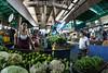 Venezuela : Mercado Municipal de San Martin / San Martin Municipal Market in Caracas / Venezuela : Zentralmarkt in Caracas - Früchte und Gemüse - Markt - Versorgung © Alexander Sánchez/LATINPHOTO.org