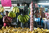 Venezuela : Platanos en el Mercado Municipal de San Martin / San Martin Municipal Market in Caracas / Venezuela : Zentralmarkt in Caracas - Markt - Versorgung - Stand mit Bananen © Alexander Sánchez/LATINPHOTO.org