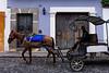 Guatemala : Turismo / Guatemala : horse-drawn carriage - Tourism / Guatemala : Antigua © Tito Herrera/LATINPHOTO.org