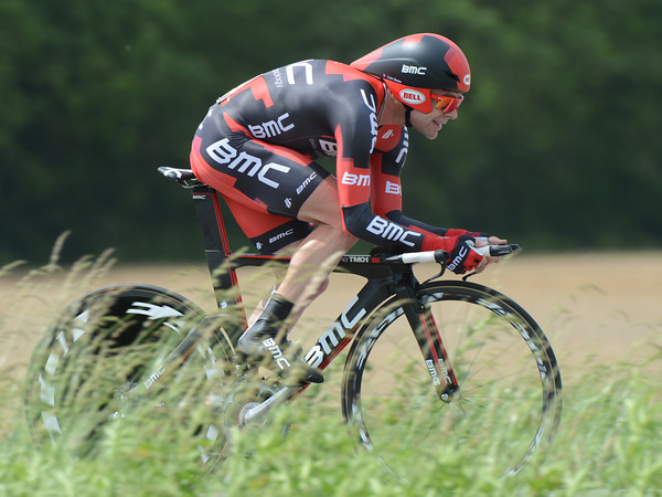 "Cadel Evans rode a solid TT to take 8th place, but he was 1' 43"" down on the winner..."