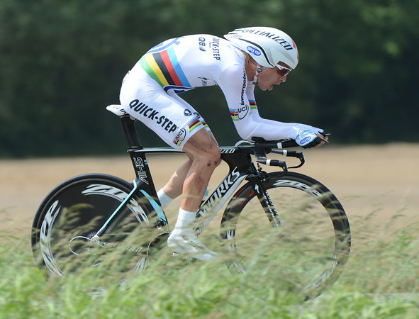 Tony Martin shone at this long distance TT, taking 2nd-place, 34-seconds behind the stage-winner...