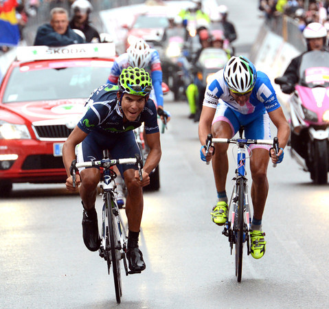 Amador sprints to victory ahead of Bart and De Marchi...
