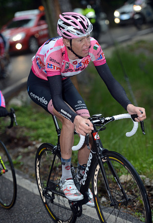 Ryder Hesjedal has been dropped by the acceleration...