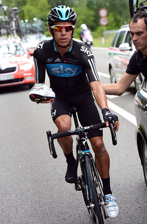 ...Uran is in need of a change of shoes, that's why...