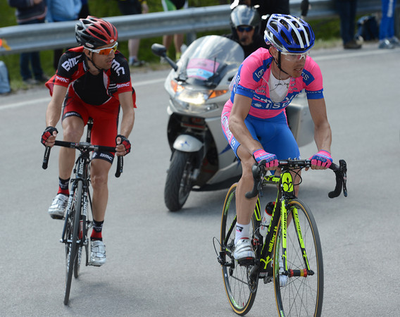 Cunego and Tschopp are the nearest chasers...