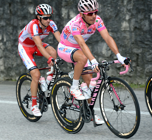 Joachim Rodriguez is more serious - he has two mountainous stages coming in which to win or lose this Giro...