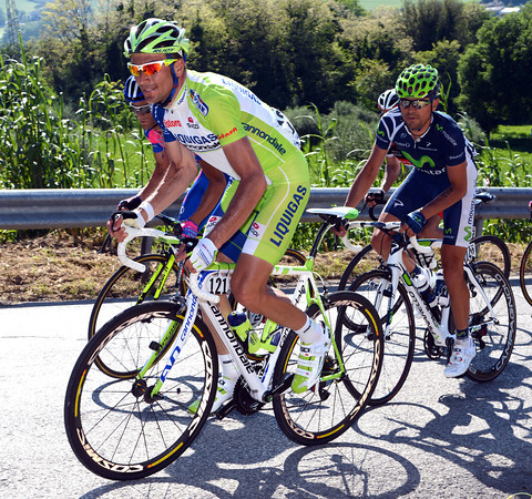 Ivan Basso is at the head of the peloton, but all the favourites are waiting harder stages on Saturday and Sunday...