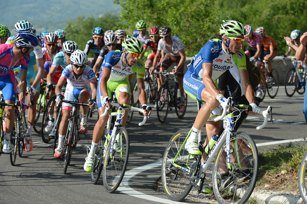 Ivan Basso is happy to just watch and wait for the bigger mountains next weekend...