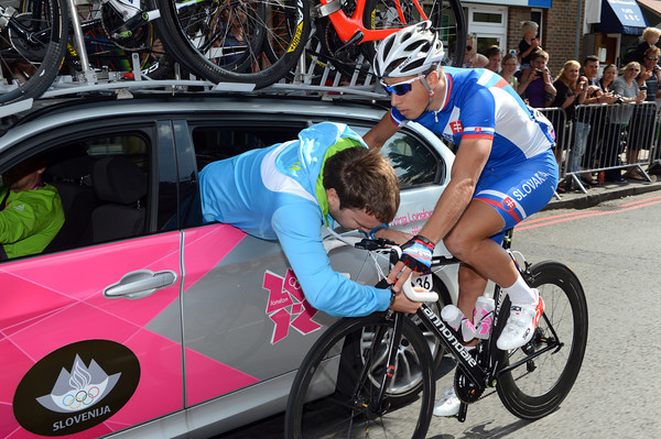 Peter Sagan is trusting his Slovakian mechanic to fix an issue normally eased by a Liquigas toolman...