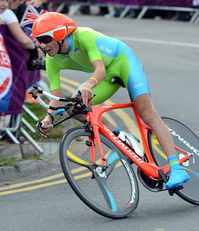 """Jani Brajkovic is still in fine form after the Tour - the Slovenian took 10th, 3' 30"""" down..."""