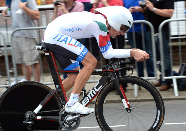 """Marco Pinotti looked fast and was fast - the Italian took 5th, 2'09"""" down..."""