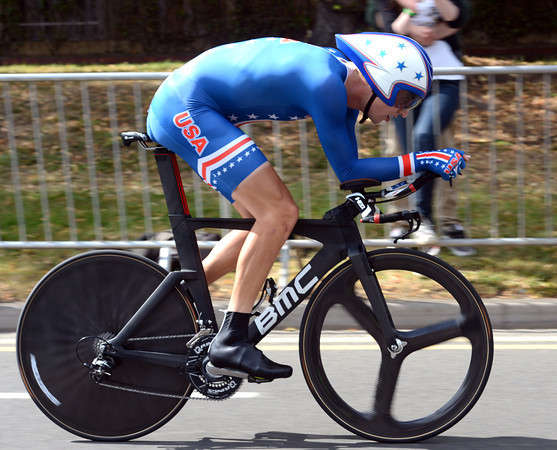 """Taylor Phinney came looking for a medal in London but had to settle for 4th place, 1' 59"""" down..."""