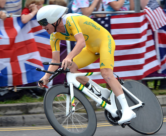 """Michael Rogers was the sole Australian entrant in the mens TT - he took 6th at 2' 12""""..."""