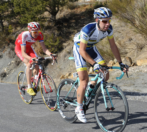 De Gendt and Taaramae have actually extended their lead by the midway part of this beautiful stage across the Alpes-Maritimes...