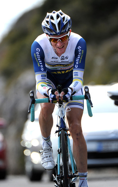 Lieuwe Westra clocked fastest time at the halfway mark before succumbing to 2nd place, two-seconds down on the winner...