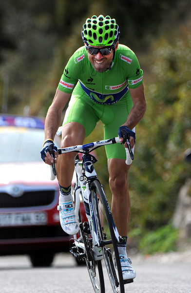 Alejandro Valverde took 6th place at 52-seconds - and stuck to his 3rd-place overall...