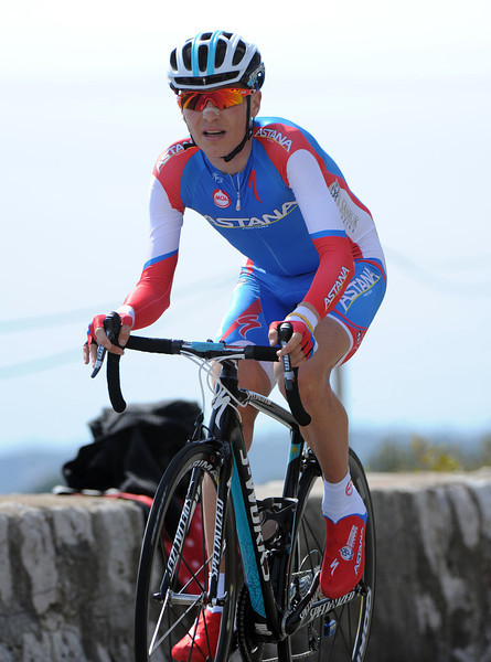 """Jani Brajkovic, now of Astana, took 39th place at 1' 55""""..."""