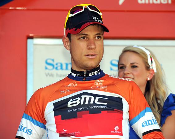 Martin Kohler has regained the race-lead for BMC...