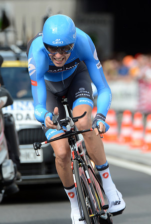 Giro winner Ryder Hesjedal took 15th at 18-seconds to show he's up for another grand Tour attempt...