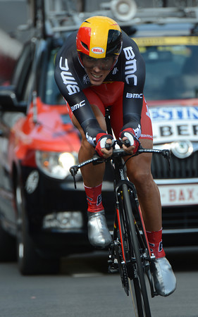Philippe Gilbert heartened his Liege fans by taking 9th, just 13-seconds down...