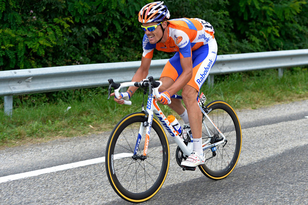 Sanchez has attacked with about 15-kilometres to go - he's on his way to another stage-win in the Tour..!