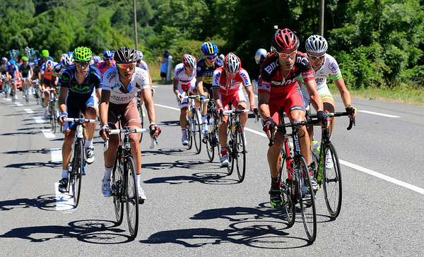 A massive break-out of 38 escapers is led by George Hincapie...