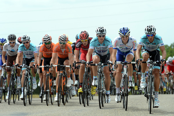 Cavendish needn't worry - the peloton is chasing hard, led by Omega, BMC and Euskatel...