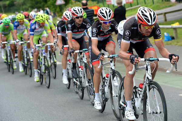 Jens Voigt turns on the power to make sure the escape is caught before the end...