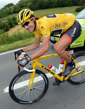 Fabian Cancellara can afford to smile, his form has come back right at the best time...