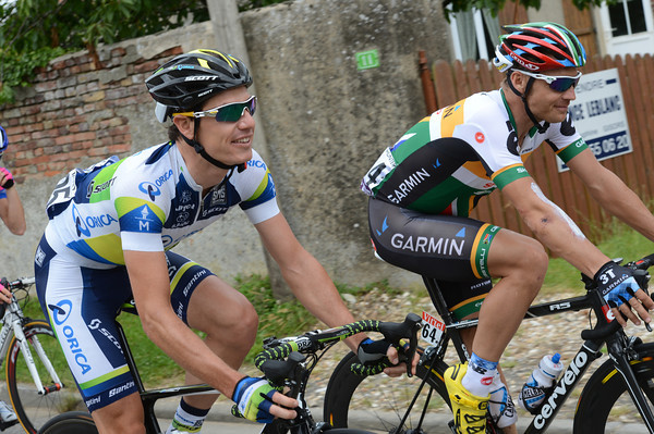 Are South Africans Daryl Impey and Robbie Hunter speaking Afrikaans or mere English today..?