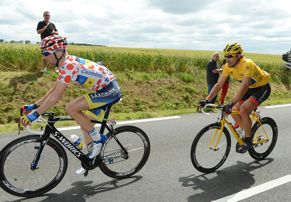 Michael Morkov has Cancellara behind him - but will it be the same once the mountains are reached..?