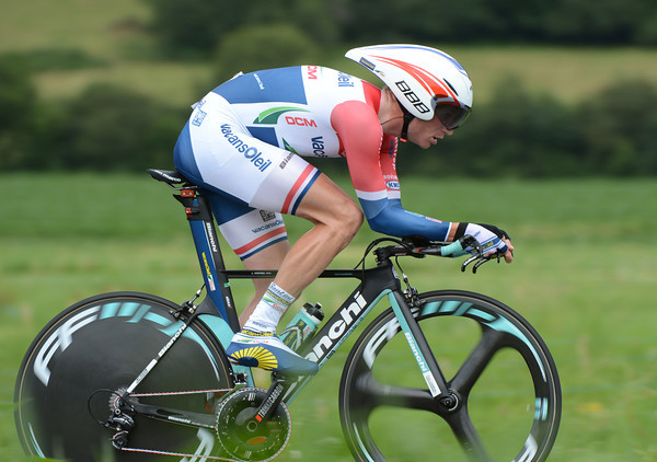 "Lieuwe Westra took 17th place at 2' 45""..."