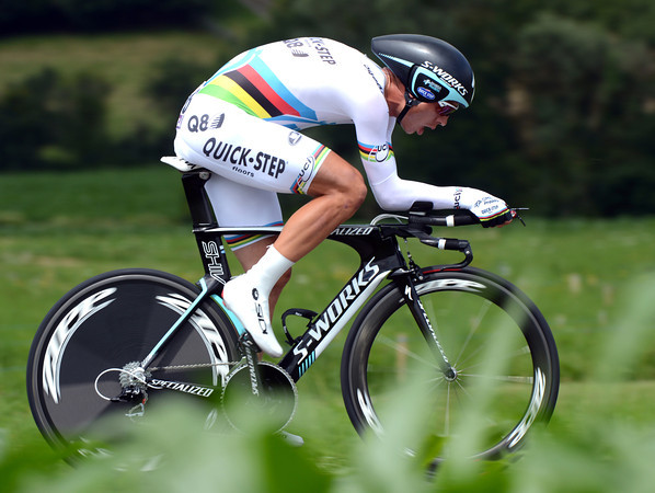 "World Champion Tony Martin could only manage 12th, 2' 16"" down - but let's see what he does in the Olympics..!"