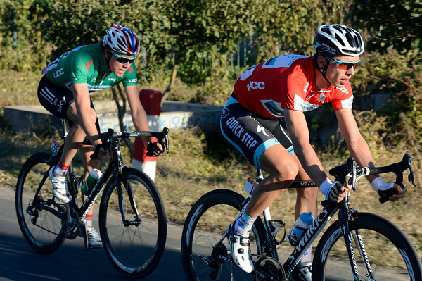 The strained faces of Tony Martin and Edvald Boasson Hagen reveal just how hard this stage has been...