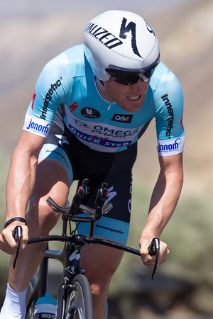 Leipheimer powered through his broken leg for 17th on the day - 1:44 out.