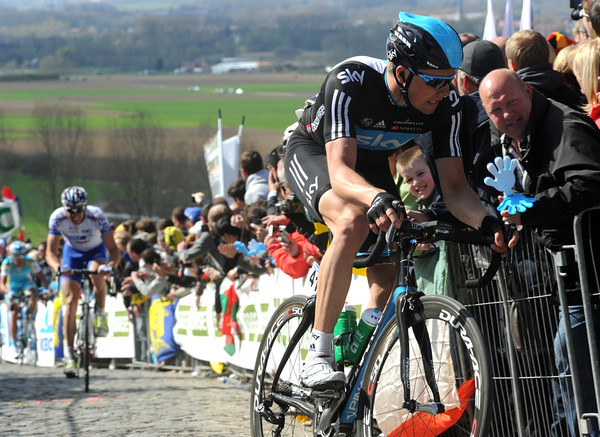 Boasson Hagen is chasing too - but it's too late...