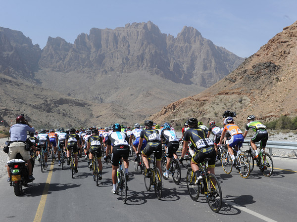 The Tour of Oman has found some of the country's greatest scenery for stage three..!