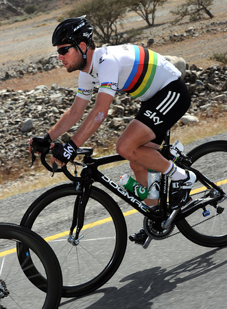 Mark Cavendish has been quiet so far in Oman - is today his day to try and win..?