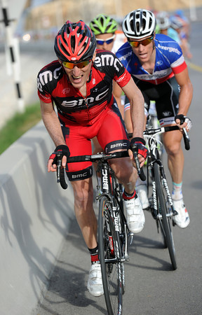 Marco Pinotti has attacked now - ruining Green Edge's plans..!