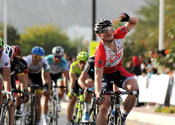 Andre Greipel wins stage four, and extends his race-lead before tomorrow's steep uphill finish...